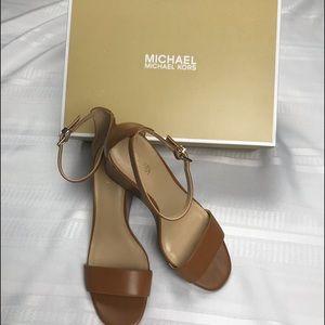 Michael Kors Fiona Wedge Heels (NIB)